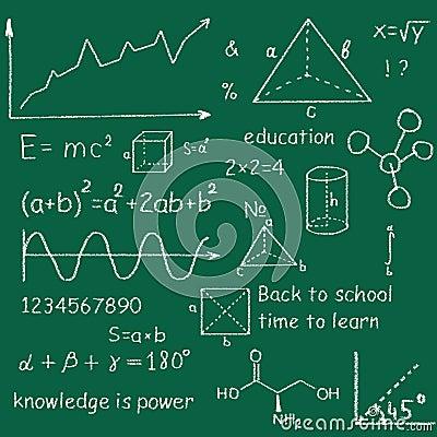 Education vector doodles