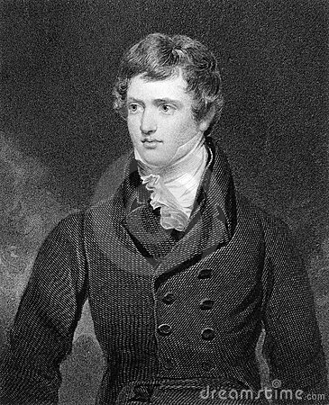 Edward Geoffrey Stanley, Earl of Darby Editorial Stock Photo