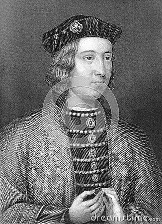 Edward IV Editorial Image