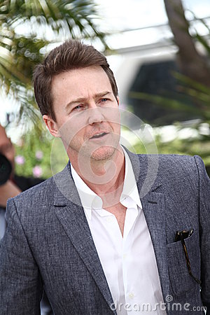 Edward Norton Editorial Stock Photo