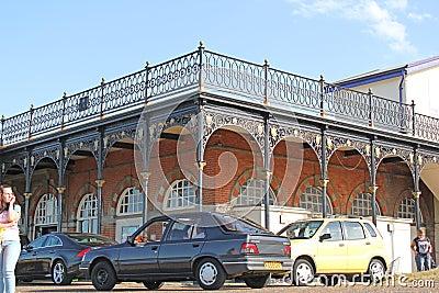Edwardian Archeticture Editorial Photo