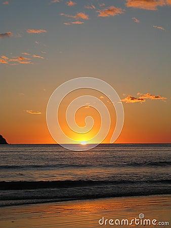 Een andere zonsondergang