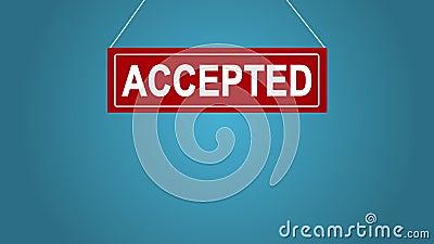 Een bedrijfsteken dat toegelaten zegt Achtergrond voor een uitnodigingskaart of een gelukwens Achtergrond voor een uitnodigingska stock illustratie