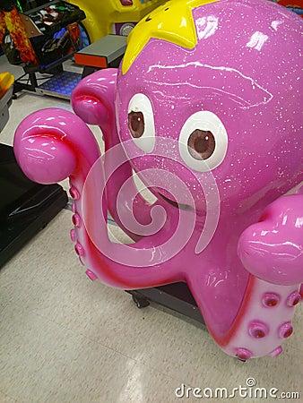 Een Octopus Redactionele Fotografie