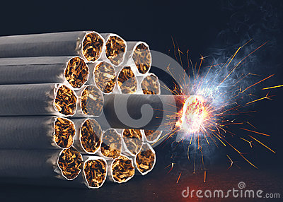 De Bom van de sigaret