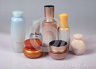 De zorg en de schoonheidsproducten van de huid