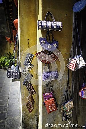Handtassen in hoi-