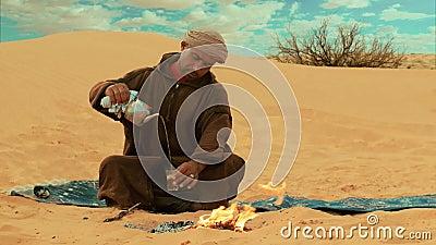 Een thee in de woestijn