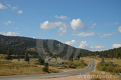 Een weg in Kei, Colorado