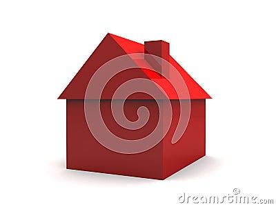 Eenvoudig 3d huis