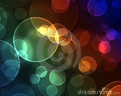 Efecto Bokeh con el arco iris