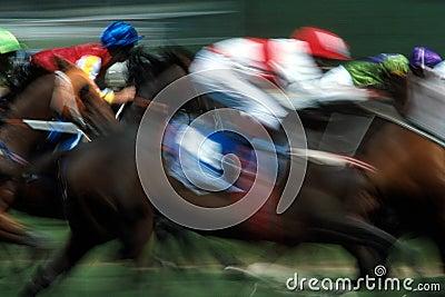 Efectos de la carrera de caballos
