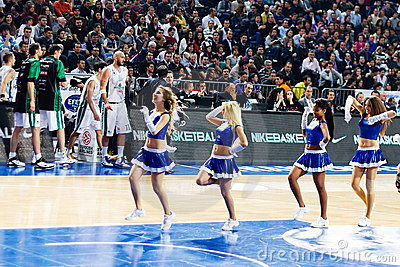 Efes Cheerleaders Editorial Image