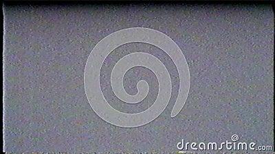 Effekt för digitalt pixelbuller stock video