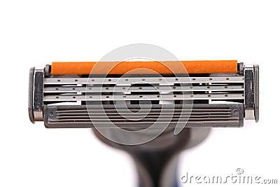 Effektivt område av att raka rakkniven