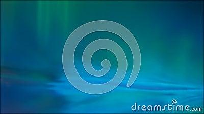 Effet d'ombre bleu de lueur de feu vert de fusée de lentille banque de vidéos
