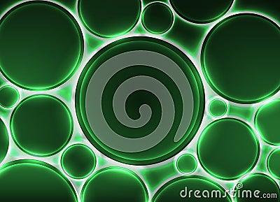 effets de feu vert sur rond pour votre texte illustration de vecteur image 64213370. Black Bedroom Furniture Sets. Home Design Ideas