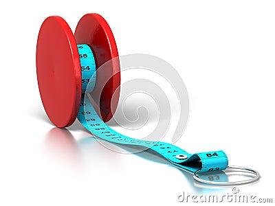 Effetto del yo-yo - perdita di peso - dieta