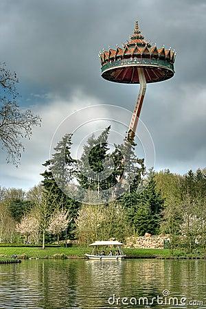 Efteling, amusement park in Netherlands