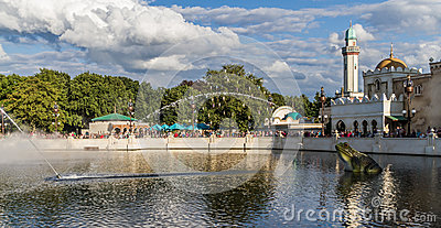 The Efteling - Aquanura watershow Editorial Image
