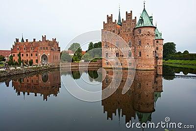 Egeskov castle Funen Denmark