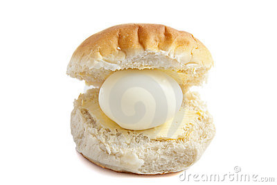 Egg on bread