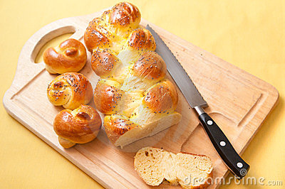 Egg bread challah