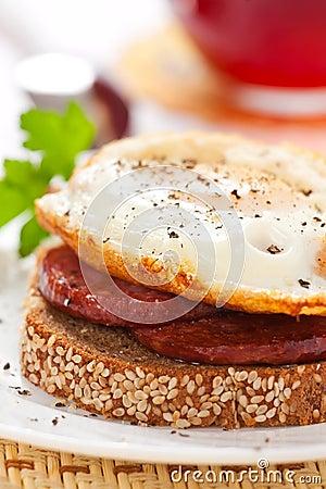 Egg breakfast