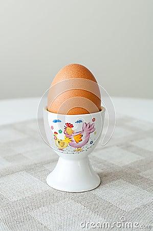Egg in egg holder
