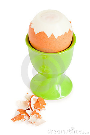 Egg In Eggcup For A Breakfast Stock Photography - Image: 17141882