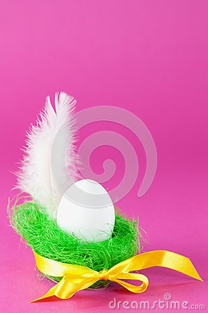 Egg and feather