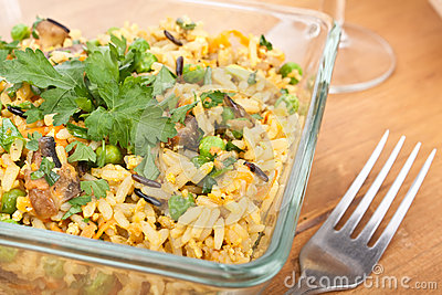 Egg Fried Rice Stock Photo - Image: 40511799