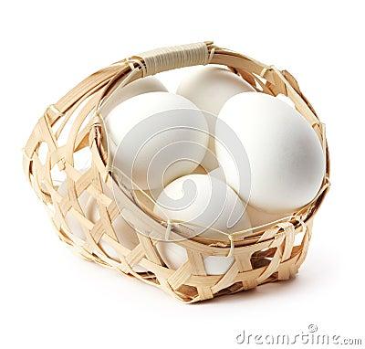 Free Egg In Basket Stock Image - 19201111