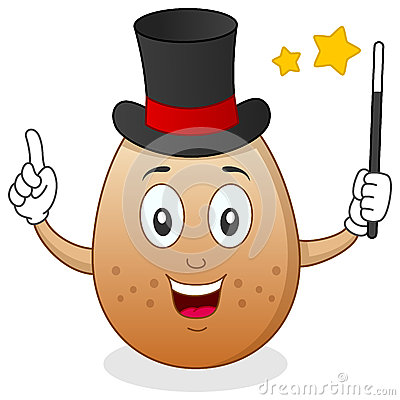 Egg the Magician Character