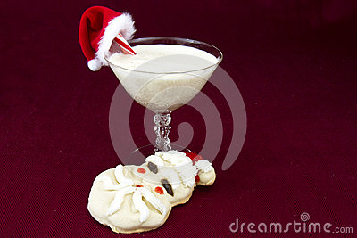 Egg Nog and Cookies for Santa