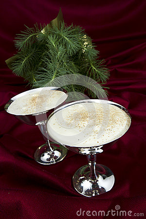Egg Nog with Evergreen