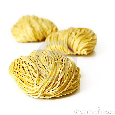 Free Egg Noodles Stock Photography - 8595352