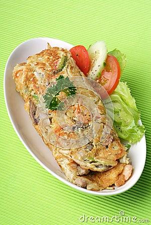 Free Egg Omelet Stock Photo - 17470270