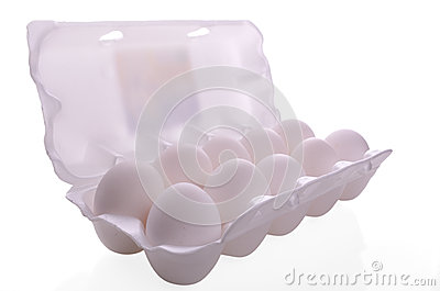 Egg packaging container