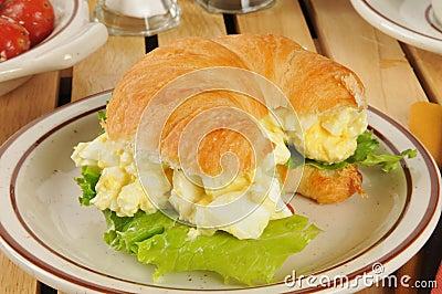 Egg Salad Croissant Sandwiches Recipes Dishmaps