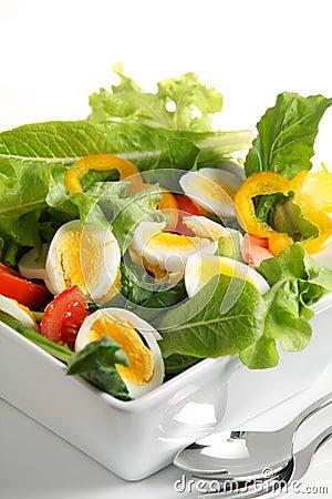 Egg salad vertical