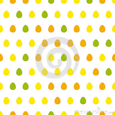 Egg seamless pattern