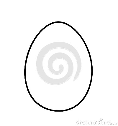 Free Egg Vector Icon Isolated Sketch Pictogram Stock Photo - 105375650