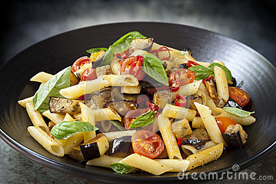 tomato sauce penne with eggplant tomato tomato and basil penne penne ...