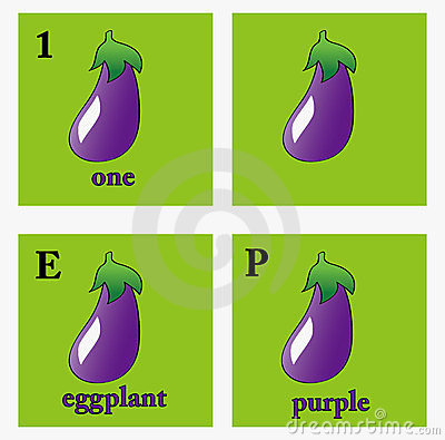Eggplant illustrations