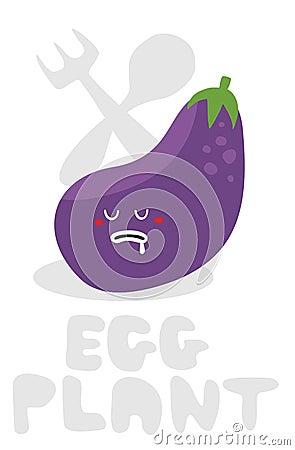 Eggplant monster.
