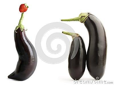 Eggplants show