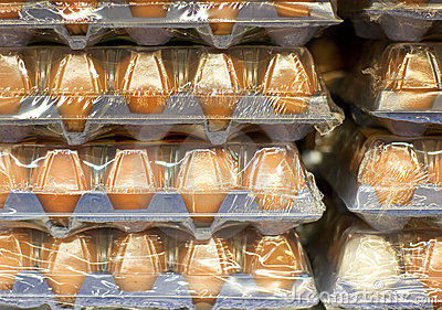 Eggs in big packages