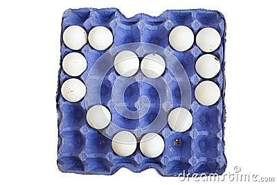 Eggs in the box