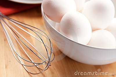 Eggs and eggbeater